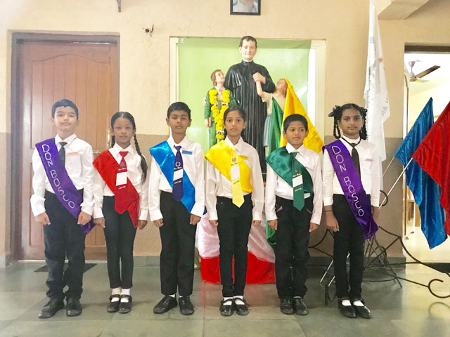 Investiture Ceremony (Don Bosco Primary School, Odxel)