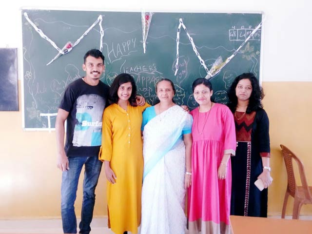 Don Bosco School Odxel celebrates Teacher's Day