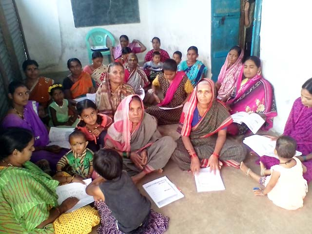 Adult Literacy in Shirahatti