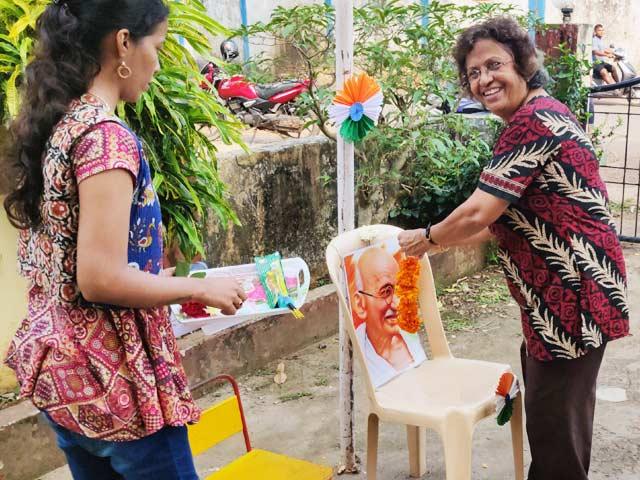 Gandhi Jayanti at DBSD