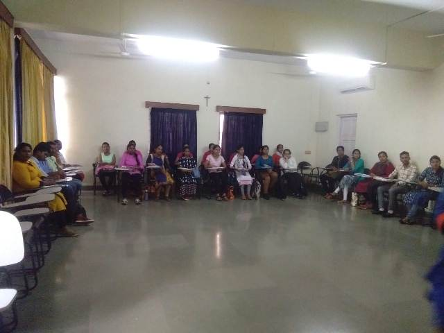 Pre- Diwali Meeting of the Remedial School Project Staff