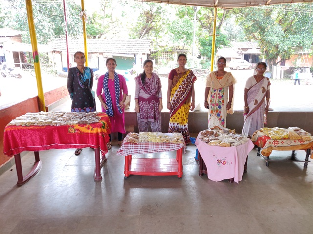 SHG Diwali Snacks and Sweets Stall