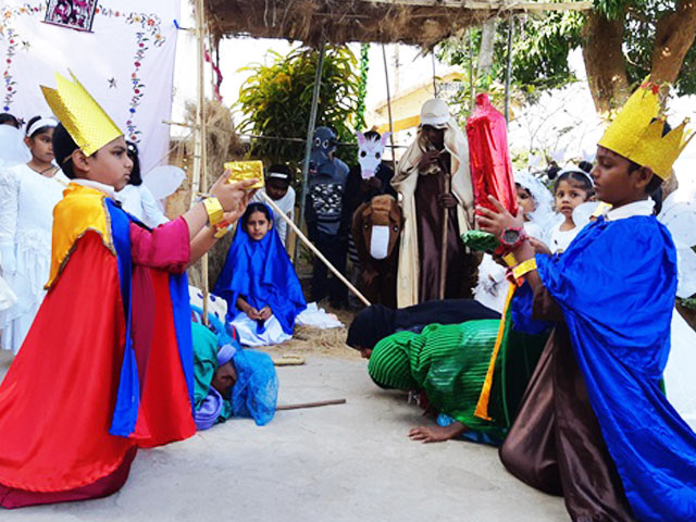 Christmas Celebrations at Don Bosco School, Alto Dabolim