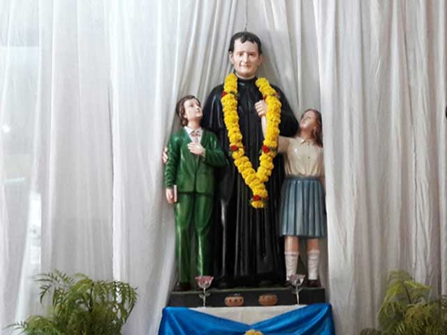 Don Bosco School, Odxel celebrates the Feast of St. Don Bosco