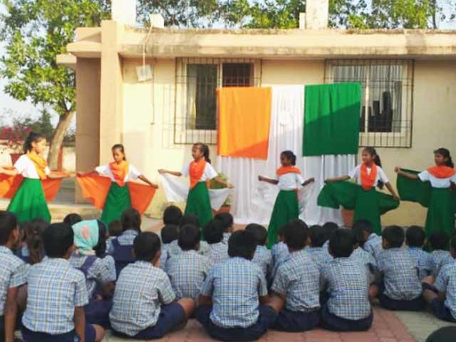 Republic Day at Don Bosco Primary School, Odxel, Goa