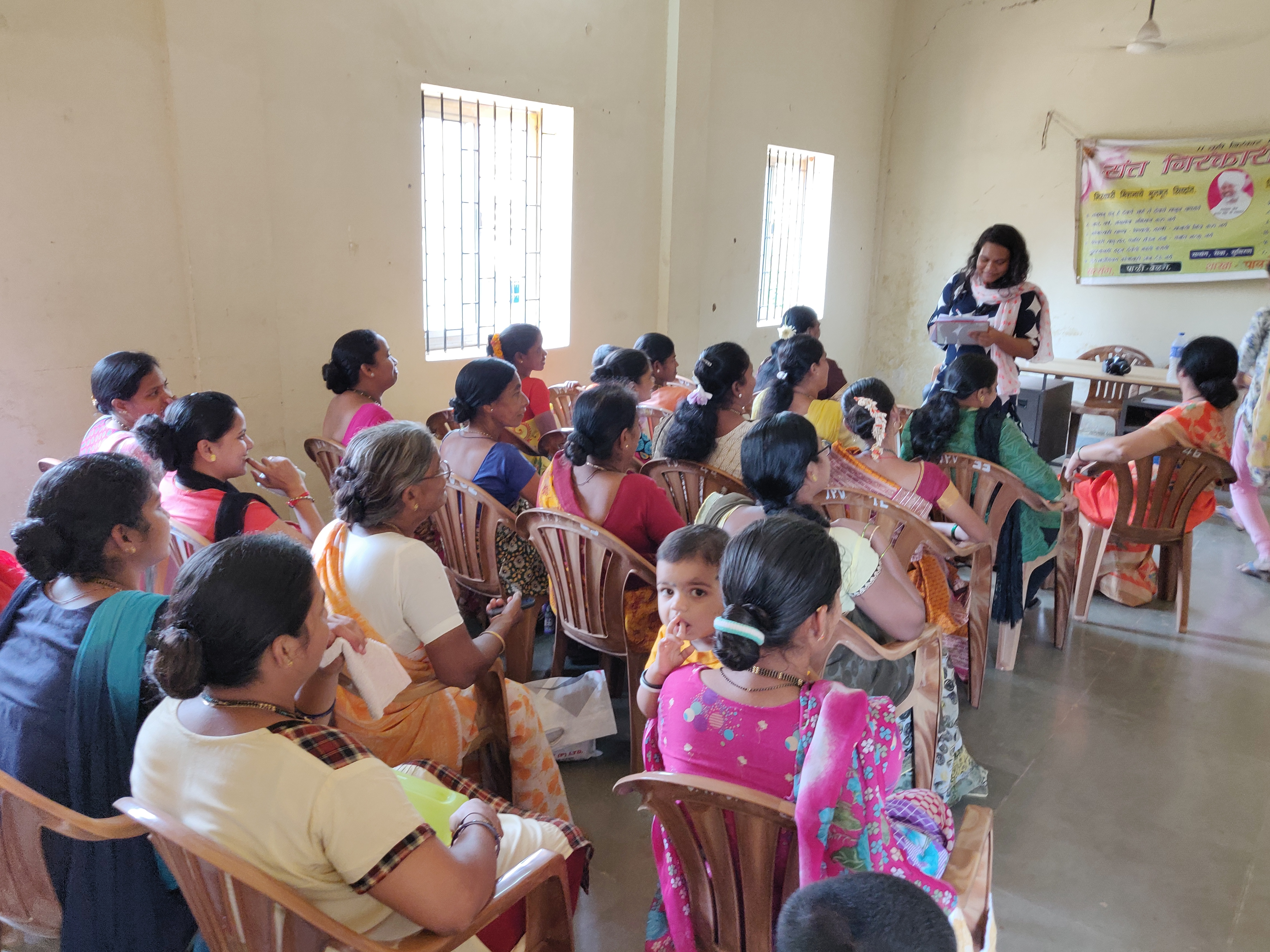 Impact Analysis Survey for Self-Help Group Project.